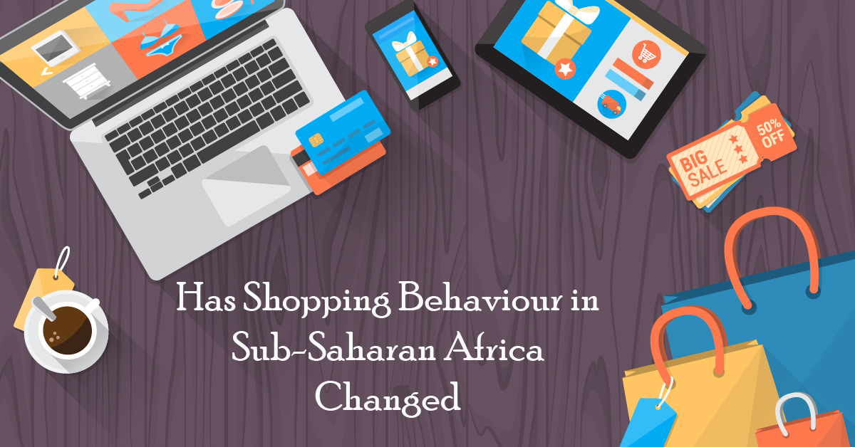 Has shopping behaviour changed in Sub-Saharan Africa since the start of the pandemic?