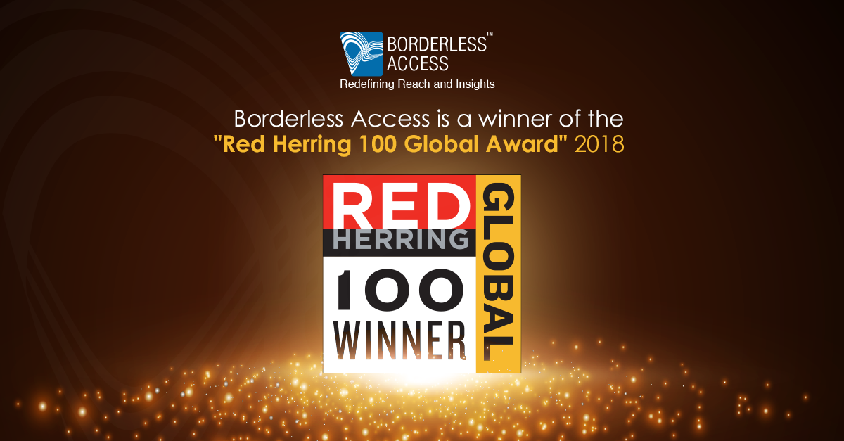Borderless Access makes it to the Prestigious 2018 Red Herring 100 Global List