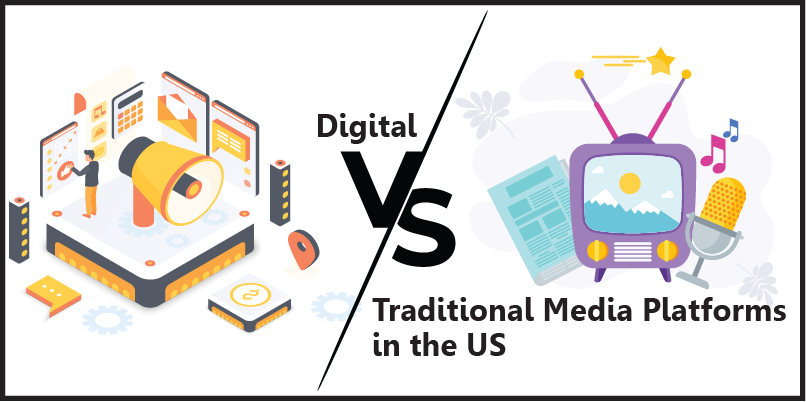 Digital vs Traditional: Media Platform Preferences among US Consumer in 2020